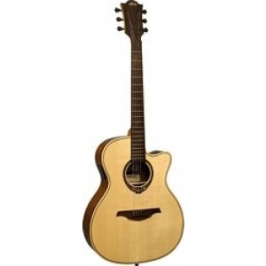 LAG T318ACE Electro Acoustic Guitar, Solid Spruce Top, Ovangkol Back and Sides
