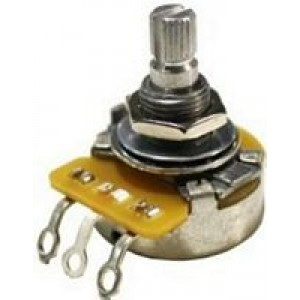 Logarithmic Volume Guitar Potentiometer - 250K