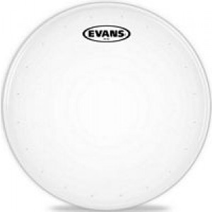 Evans Genera HD Dry B12HDD Heavy Duty Dry Coated Snare Drum Batter Head 12 Inch