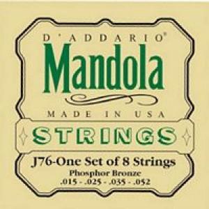 Daddario EJ76 Mandola Phosphor Bronze 15-52 Medium