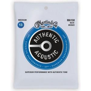 Martin MA150 Medium 80/20 Authentic Acoustic Strings 13-56