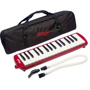 Stagg Melodica 32 - Red