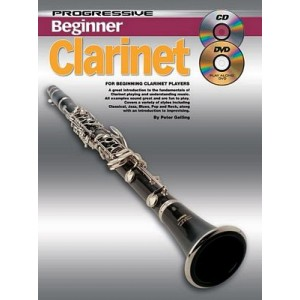 Progressive Beginner Clarinet with CD/DVD