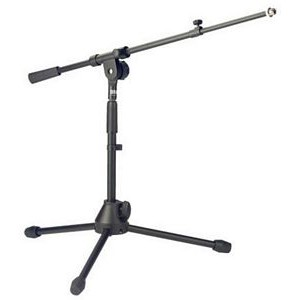 Stagg MIS-2004BK Low Profile Boom Microphone Stand