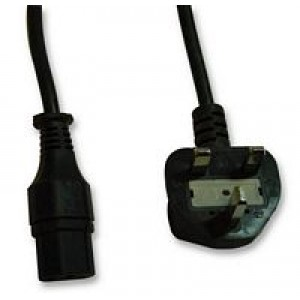 Pro Elec 2m 5a UK IEC Mains Lead