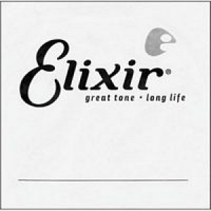 Elixir Plain Anti-Rust Single String 15