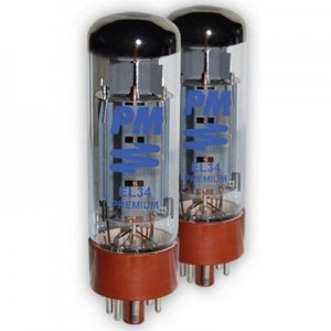 PM EL34 Power Amp Tubes Matched Pair Made in China