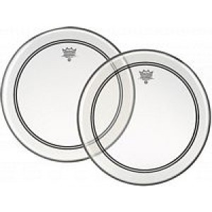 Remo P4-1322-C2 Powerstroke 4 Clear 22 Inch Bass Drum Head