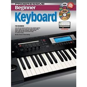 Progressive Beginner Keyboard (Bk/CD/DVD)