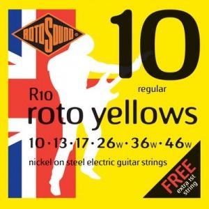 Rotosound R10 Roto Yellows Set (.010-.046)