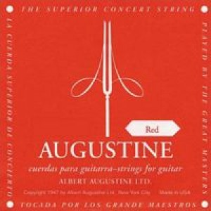Augustine REDSETS Normal Tension Nylon Classical Guitar Strings: Set
