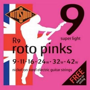 Rotosound R9 Roto Pinks Set (.009-.042)