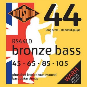 Rotosound RS44LD Bronze Bass, Long Scale, Standard, 45-105