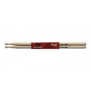 Stagg Wood Tip Drumsticks - 5B