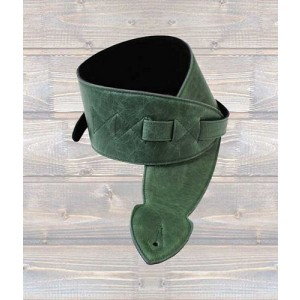 "LEATHERGRAFT Leather Softy 4"" Strap - Green"