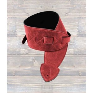 """LEATHERGRAFT Leather Softy 4"""" Strap - Red"""