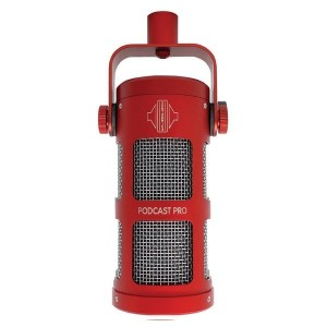 Sontronics Podcast Pro Microphone, Red