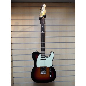 Second-hand Squier Classic Vibe Tele 3 Tone Sunburst (Including Hard Case)