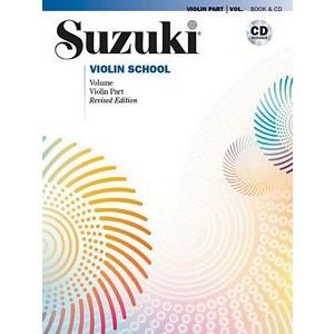 Suzuki Violin Vol 1 with CD