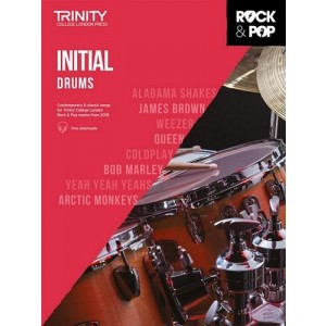 Trinity Rock & Pop Drums 2018 Initial Grade