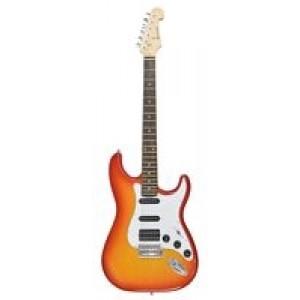 Chord CAL64-CS Electric Guitar - Cherryburst