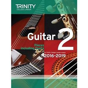 Trinity Guildhall Pieces Including Duets 2016-2019 - Guitar Grade 2