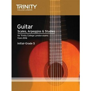 Trinity Guildhall Scales, Arpeggios & Studies from 2016 - Guitar Grade Initial-5