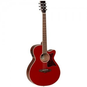 Tanglewood Winterleaf Super Folk Red gloss Electro Acoustic
