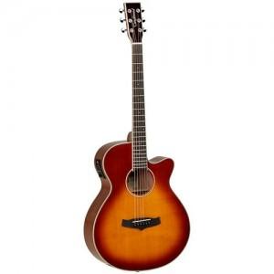 Tanglewood TW4 E SB Cutaway Acoustic Sunburst
