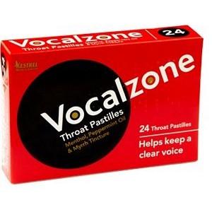 Vocalzone Pastilles - Original 24 Pack