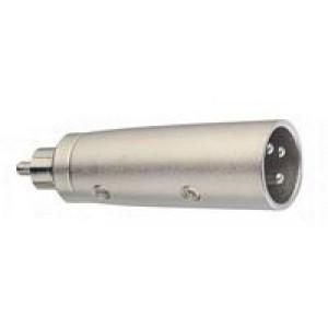 Stagg ACXMCMH Male Phono (RCA) - Male XLR Adaptor