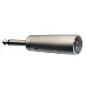 Stagg ACXMPMH 6.3mm Mono Jack - Male XLR Adaptor