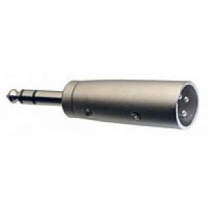 Stagg ACXMPMSH 6.3mm Stereo Jack - Male XLR Adaptor